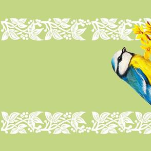 """Teatowel """"Springtime"""""""