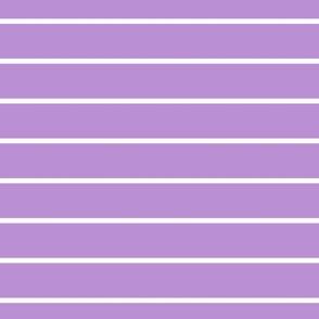 Purple and White Thin Pin Stripes