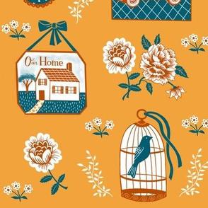 Home Sweet Home—Golden