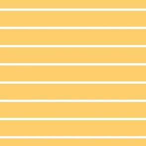 Yellow and White Thin Pin Stripes