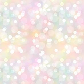 Pastel Rainbow Bokehs