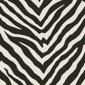 Zebra // Black and Tint