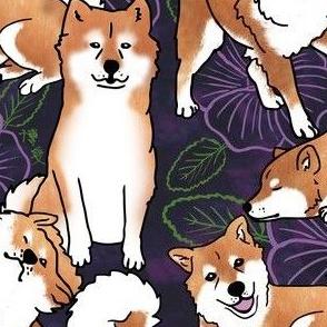 Breezeley poses (purple)