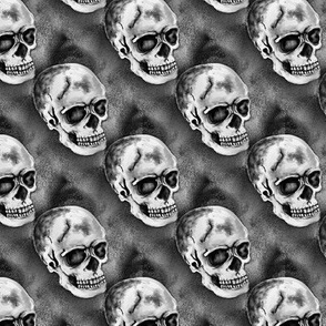 halloween skull dark