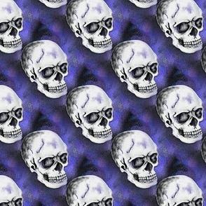 halloween gothic skull