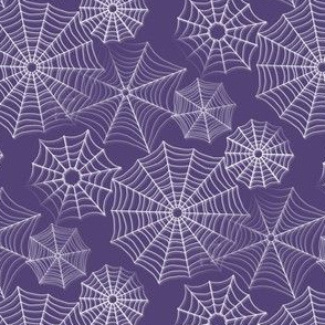 Spiderwebs purple2