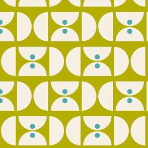 Geometric Martini Mod Chartreuse