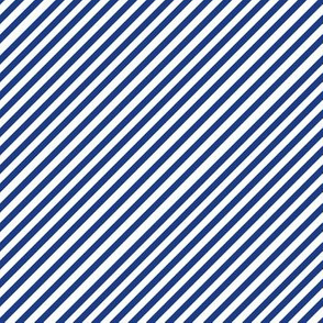 Simple Diagonal Navy Stripes