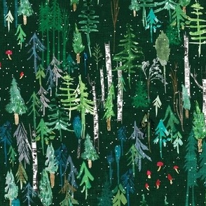 Noël Forest (green) MED
