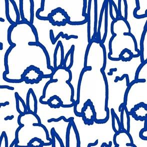 blue bunny fabric bunny bottoms bunny curtains