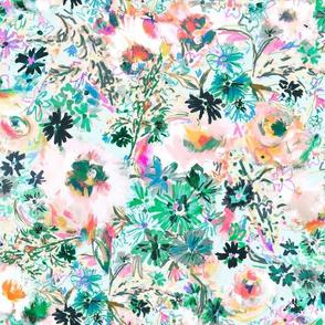 Wildwood Floral Blue Big