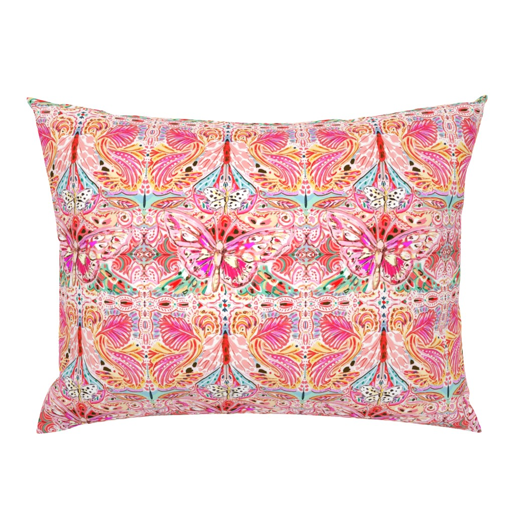 Campine Pillow Sham featuring Butterfly Journey by jeanetta_gonzales