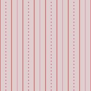 Vintage Garden Pink Stripe