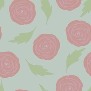 Vintage Garden Rosy Mint