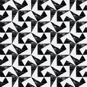 pulled teeth and pentagonal tessellations no. 1