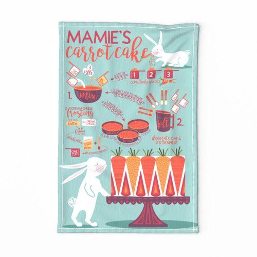 Mamie's Carrot Cake