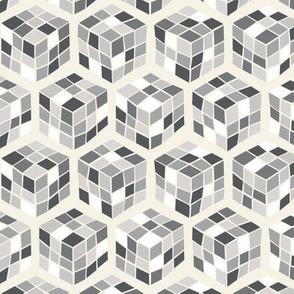 Geek Cubes Grays