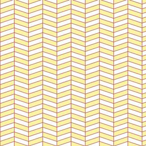 Herringbone - Yellow