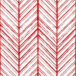 Shibori Herringbone Light- Peppermint - ©Autumn Musick 2020