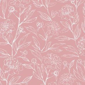 Rozy Peony Pink