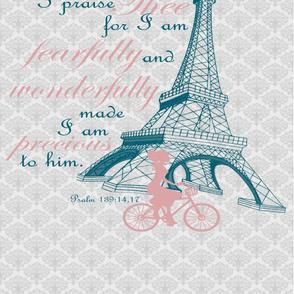 psalm 139 Print 2 Yard Print