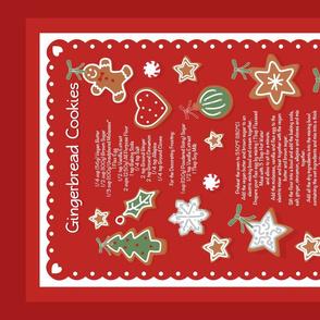 Gingery_Christmas Cookies_Tea Towel