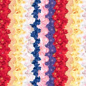 Floral Chevron Multi - railroaded