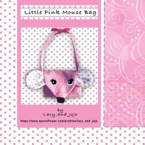 Little pink mouse purse