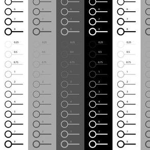 Black geometric abstraction
