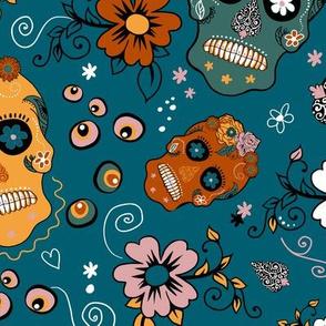 Spooky Fun Sugar Skull Party