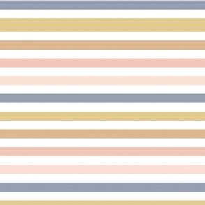 November Stripes - Horizontal Fall Stripes