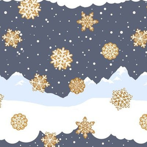 Gringerbread Snow