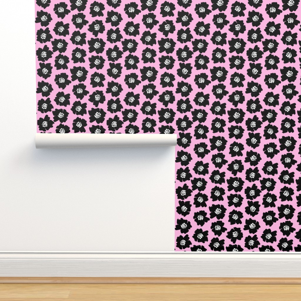 3 Flower Pop Floral Pop On Isobar By Charlottewinter Roostery