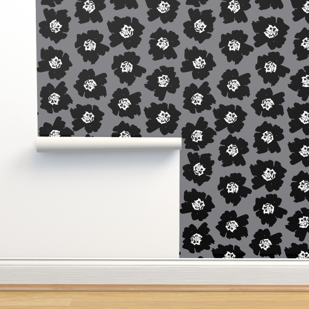 7 Flower Pop Floral Pop On Isobar By Charlottewinter Roostery