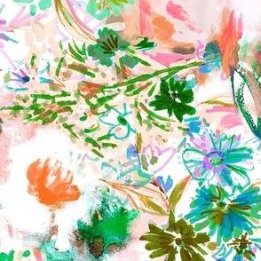 Wildwood Floral Pink Xlarge