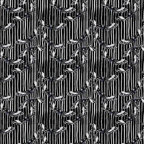 Death's-head Hawkmoth Black as Ink stripe