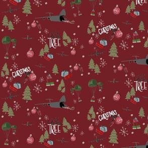 C5 christmas red