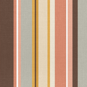 Vintage Kilim Stripes (big vertical)