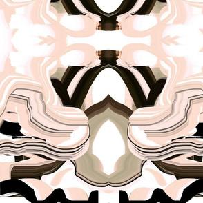 Blush curtains blush pink tan white black