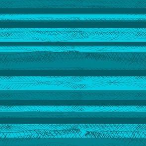 Messy Stripes Green