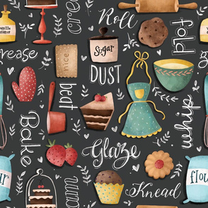 Bake Love pattern