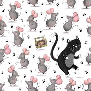 Cat and Mice Dance Party