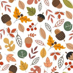 Fall Foliage Pattern