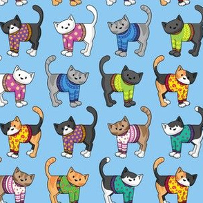 Cats in Jumpers