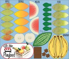 Cut N Sew Playfood: Vol. Fruits