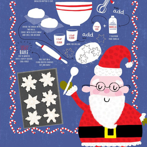 Santa's Favorite Sugar Cookies! (oriented tall)