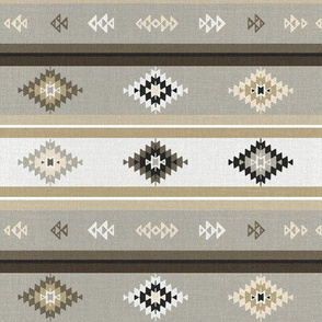 Neutral Kilim Aztec (small)