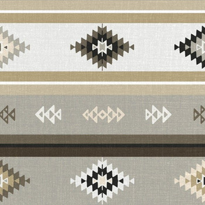Neutral Kilim Aztec (big)
