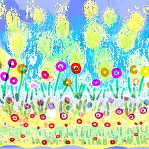 6-FIELDS OF FLOWERS