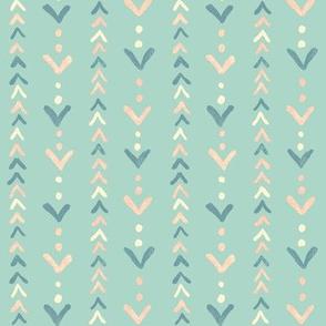 Pastel Arrowheads
